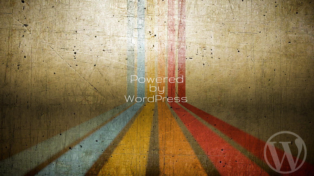 wordpress wallpaper - powered by WordPress wallpaper