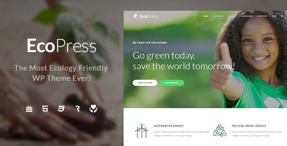 Ecopress wordpress theme review
