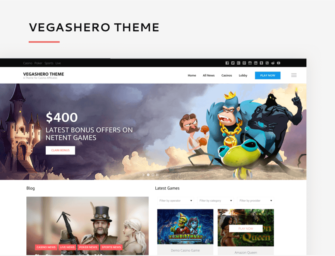 A unique casino WordPress theme for gambling affiliates that can boost conversion and earnings