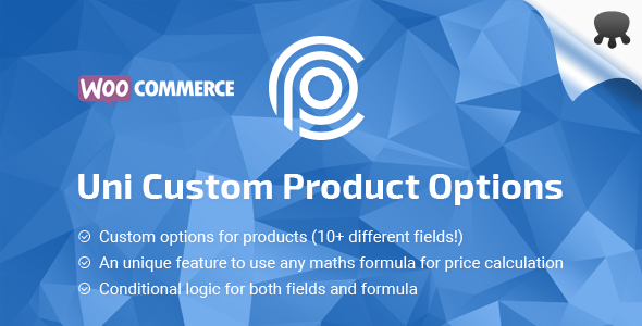 WooCommerce products custom options - pricing table builder
