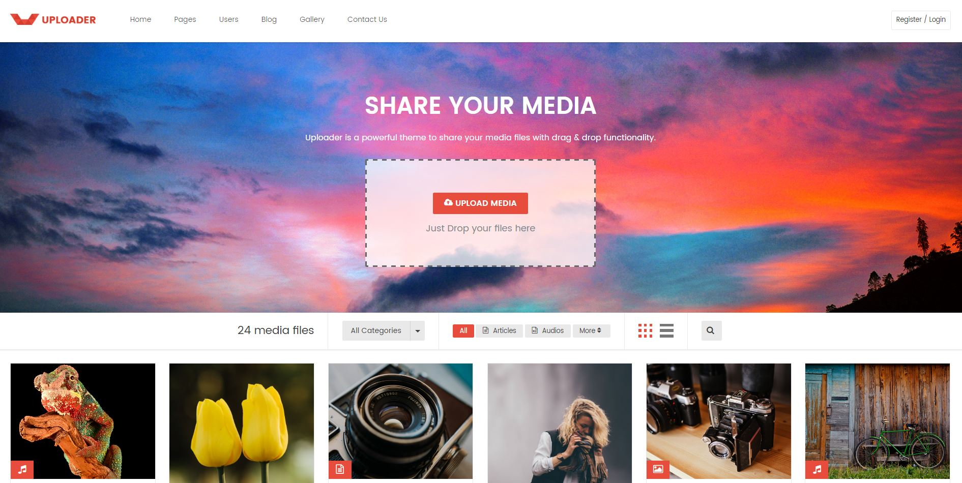 Front-end Content Submission & Viral Blog Wordpress Themes   WPArt