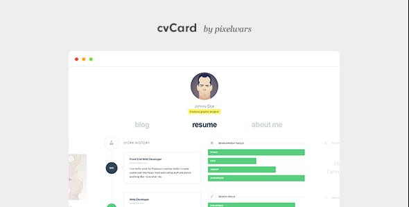 cvcard