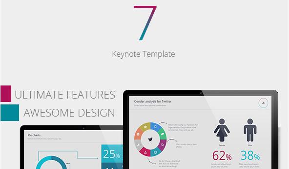 se7en-keynote-template