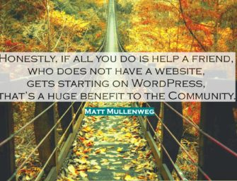 Small (Step) is Beautiful – The Wordview of Matt Mullenweg