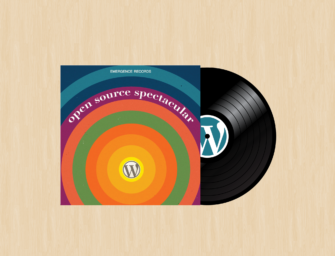 The Sound of Web – Stylish LP WordPress Wallpaper