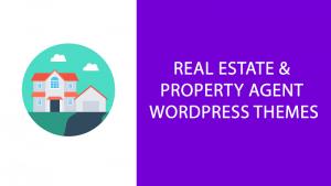 real estate property agent wordpress themes