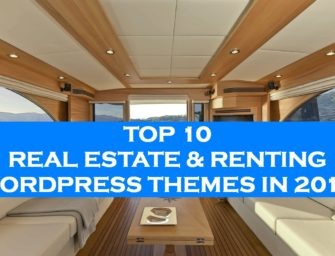 TOP 10 Real Estate & Renting WordPress Themes in 2017
