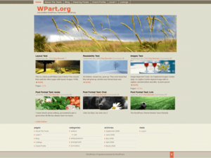 Fragrance-Free-Wordpress-Theme