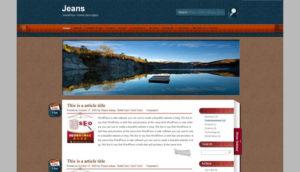 Jeans-Free-Wordpress-Theme