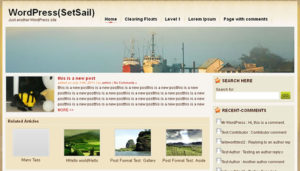SetSail-Free-Wordpress-Theme