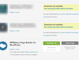 "The dreaded Themeforest error – ""Download not available"""