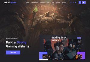 build gaming website with wordpress