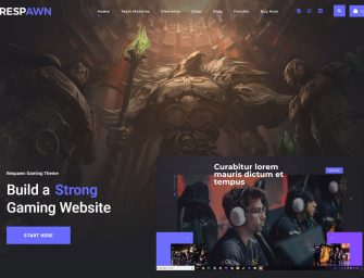 Amazing WordPress Themes to Build a Video Gaming Magazine