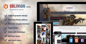 oblivion gaming theme