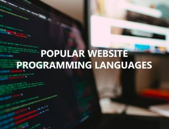 Most Popular Programming Languages for Creating A Website
