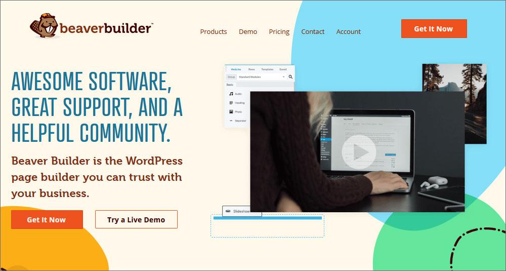 Beaver Builder page builder
